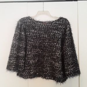 Shimmering Vince Camuto Sweater 3/4 Sleeve